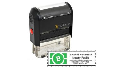 Bitcoin Cash Notary Service