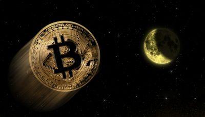 Bitcoin price jump