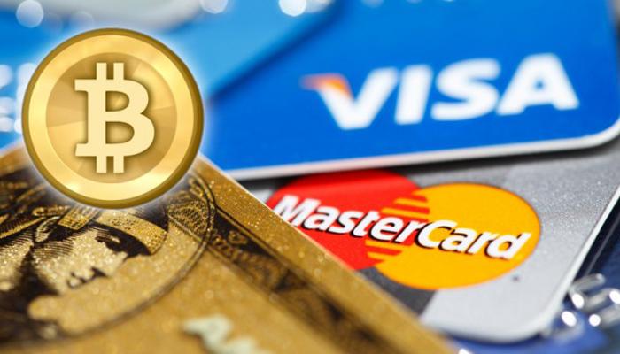 Покупка биткоинов при помощи банковской карты