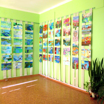 Exhibition of Children's Drawings, Rēzekne