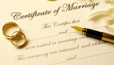 Laulību reģistrācija