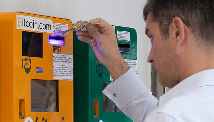Биткоин банкоматы
