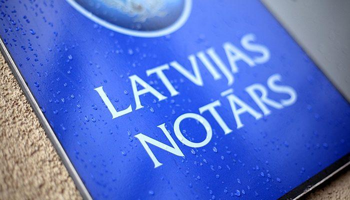 Latvijas zvērinātu notāru pakalpojumi tagad pieejami arī attālināti
