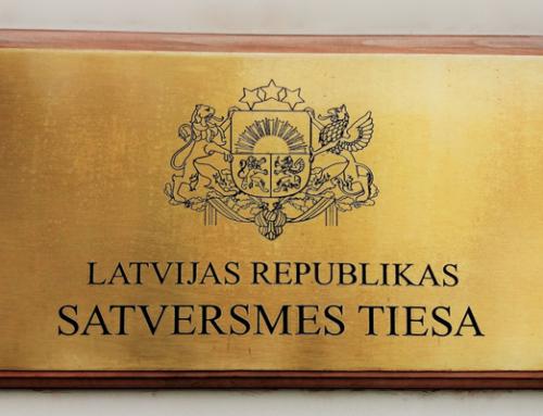 [ 353 ] – Pēc Lozes pieteikuma Satversmes Tiesa vērtēs kasācijas sūdzības termiņu