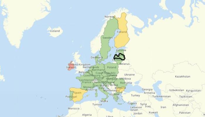 ES valstu noteiktie ierobežojumi